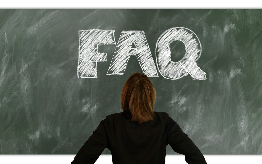 Q: How Important are FAQs?  A: VERY!